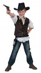 Karneval Jungen Weste Cowboy Texas Tommy