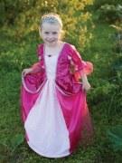 Karneval Kinder Mädchen Kostüm Prinzessin fuchsia