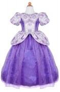 Karneval Kinder Mädchen Kostüm Prinzessin lila