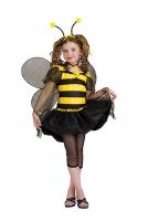 Karneval Mädchen Kostüm Biene SWEET BEE
