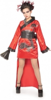 Karneval Mädchen Kostüm DRAGON LADY