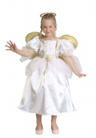 Karneval Mädchen Kostüm ENGEL