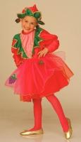 Karneval Mädchen Kostüm ERDBEERE