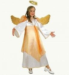 Karneval Mädchen Kostüm Engel Angelina