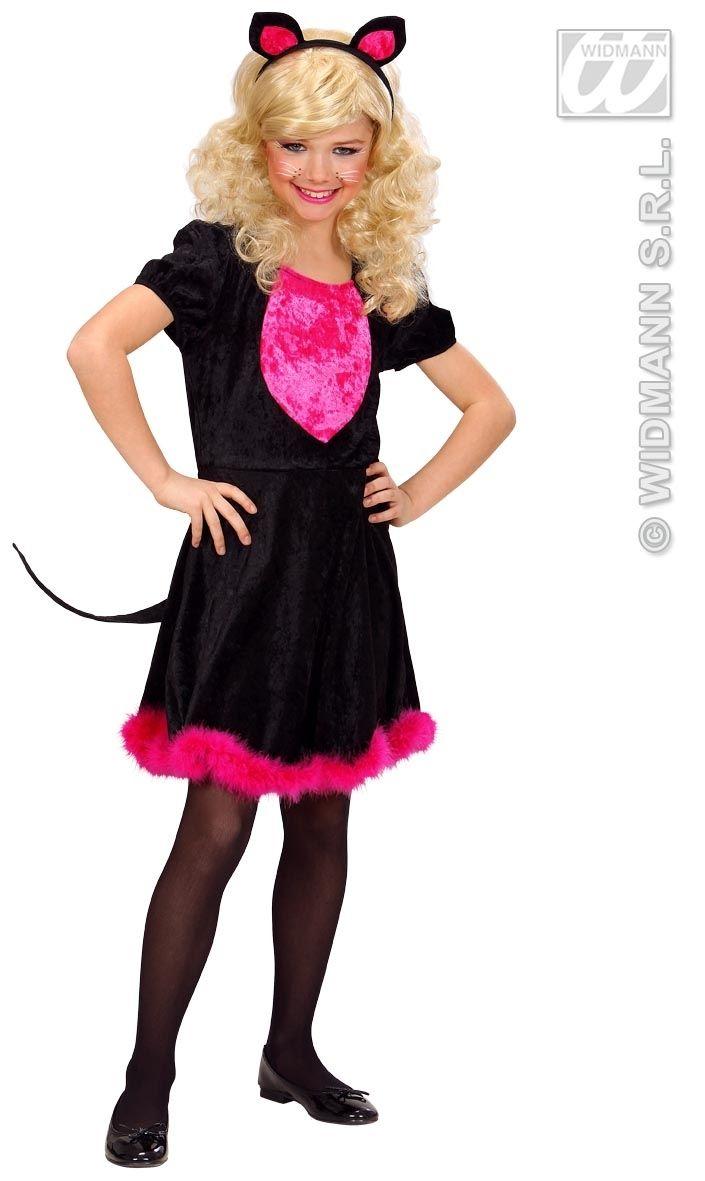 karneval m dchen kost m katze kitty kat faschingskram. Black Bedroom Furniture Sets. Home Design Ideas