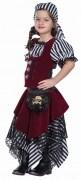 Karneval Mädchen Kostüm Piratin Thea