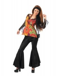 LIMIT SPORT Damen Kostüm Hippie Disco