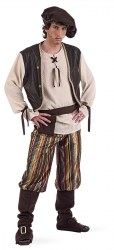 Limit Karneval Herren Kostüm Mittelalter Wirt