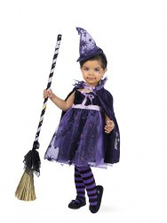 Limit Karneval Halloween Baby Kostüm Hexe Sternchen