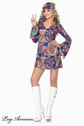 Leg Avenue Karneval Damen Kostüm HARMONY HIPPIE