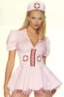 Leg Avenue Damen Kostüm KRANKENSCHWESTER BETTY