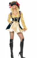 Leg Avenue Damen Kostüm Piratin MARAUDERS WENCH