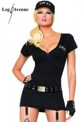 Leg Avenue Damen Kostüm Polizistin SEXY SWAT