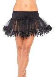 Leg Avenue Damen Petticoat mit Borte Farbwahl