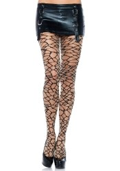Leg Avenue Damen-Strumpfhose Woven Crackle