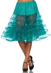 Leg Avenue knielanger Damen Petticoat Farbwahl