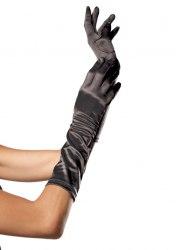Leg Avenue Ellenbogen Satin Handschuhe Farbwahl