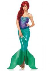 Leg Avenue Karneval Damen Kostüm Meerjungfrau deluxe