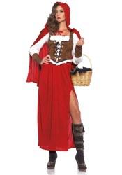 Leg Avenue Karneval Damen Kostüm Rotkäppchen Classic