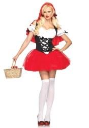Leg Avenue Karneval Damen Kostüm Rotkäppchen Racy Red Riding