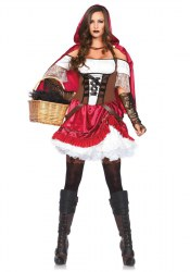 Leg Avenue Karneval Damen Kostüm Rotkäppchen Rebel Red