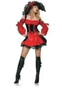 Leg Avenue Karneval Damen Kostüm Vixen Pirate Wench