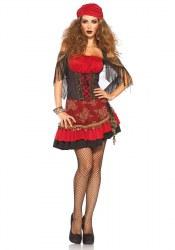 Leg Avenue Karneval Damen Kostüm Zigeunerin Mystic Vixen