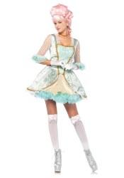 Leg Avenue Karneval Damen Kostüm Deluxe Marie Antoinette