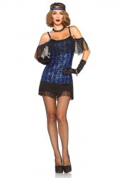 Leg Avenue Karneval Damen Kostüm Glamour Girl Flapper