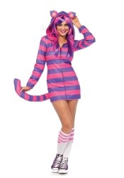 Leg Avenue Karneval Damenkostüm Grinsekatze Cozy Cheshire Cat
