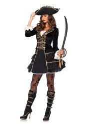 Leg Avenue Karneval Damen Kostüm Piraten Kapitän