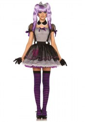 Leg Avenue Karneval Halloween Damen Kostüm Puppe Dead Eye Dollie