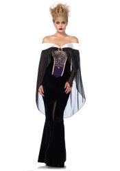 Leg Avenue Karneval Halloween Damen-Kostüm Royal Darkness