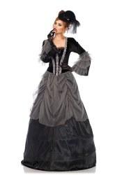 Leg Avenue Karneval Damen Kostüm Viktorianisches Kleid