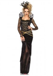 Leg Avenue Karneval Halloween Damenkostüm Böse Königin