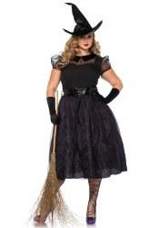 Leg Avenue Karneval Halloween Damenkostüm Hexe Spellcaster XXL