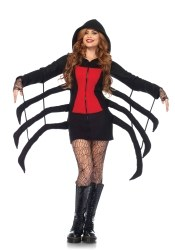 Leg Avenue Karneval Halloween Damen Kostüm Spinne