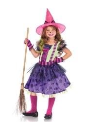 Leg Avenue Karneval Halloween Mädchen Kostüm Katzen Hexe
