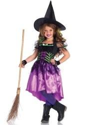 Leg Avenue Karneval Halloween Mädchen Kostüm Spinnen Hexe