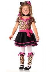 Leg Avenue Karneval Mädchen Kostüm Leopard Pretty Kitty
