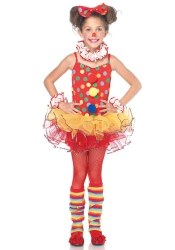 Leg Avenue Karneval Mädchen Kostüm Zirkus Clown