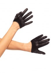 Leg Avenue Mini Handschuhe Satin Farbwahl