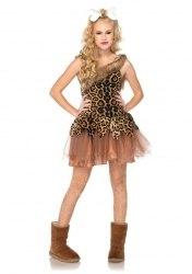Leg Avenue Tween Mädchen Kostüm Höhlenmädchen