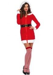Leg Avenue Weihnachts-Damenkostüm Cozy Santa