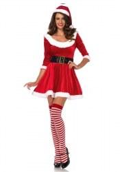 Leg Avenue Weihnachts-Damenkostüm Santa Sweetie