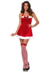 Leg Avenue Weihnachts-Damenkostüm Santas Helferin