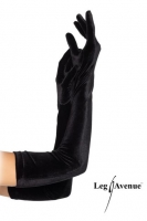 Leg Avenue lange  Damen Opern Handschuhe Samt