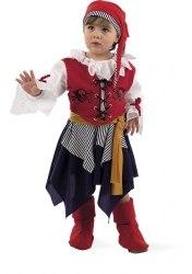 Limit Karneval Baby Kostüm Kleine Piratin
