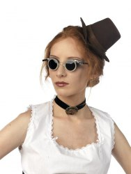 Limit Karneval Brille Steampunk