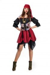 Limit Karneval Damen Kostüm Piratin Tag der Toten